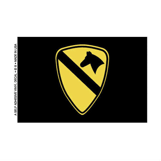 1st Cavalry Decal - Indy Army Navy
