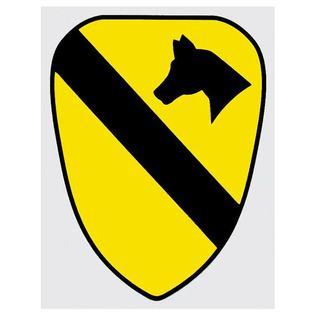1st Cavalry Division Decal - Indy Army Navy