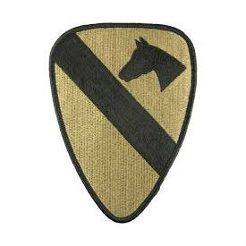 1st Cavalry Division OCP Hook & Loop Patch