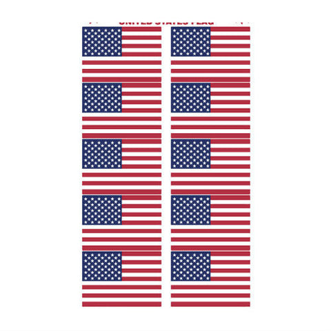 US Flag Sticker Pack