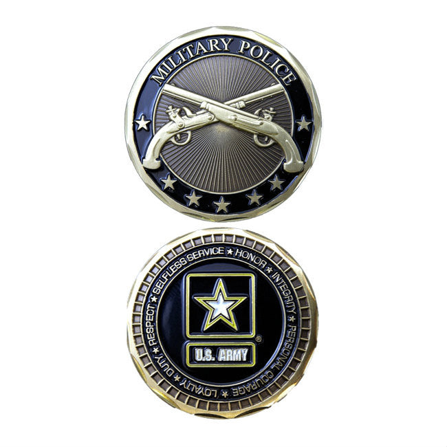 Army Military Police Challenge Coin