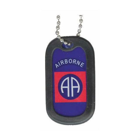 82nd Airborne Dog Tag / Key Chain