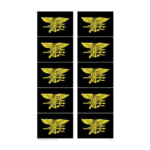 Navy Seal Trident Sticker Pack - Indy Army Navy