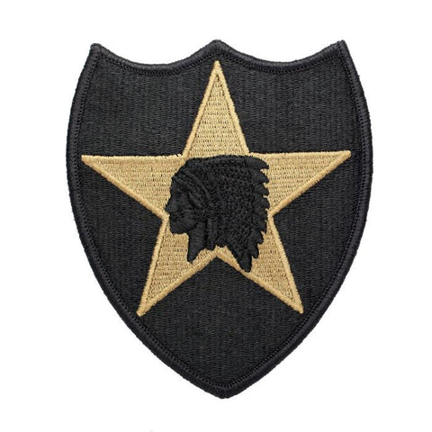 2nd Infantry OCP Hook & Loop Patch