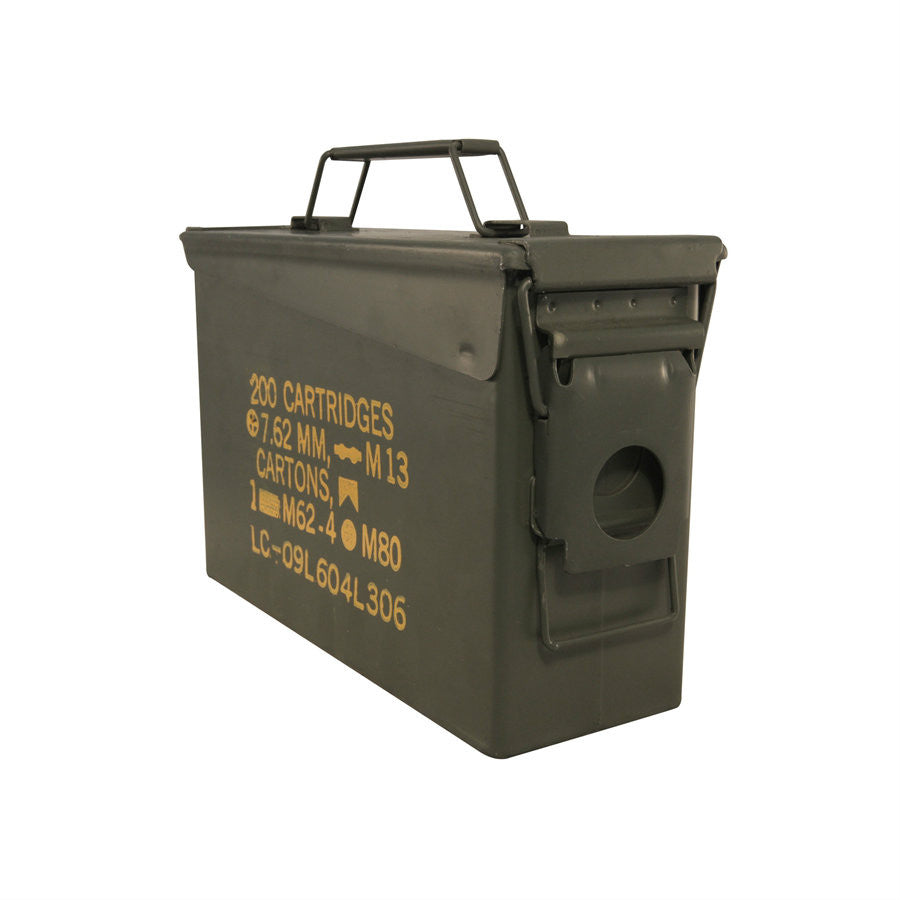 Used 30 Caliber Ammo Can