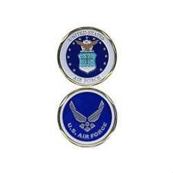 Air Force Seal & Logo Challenge Coin