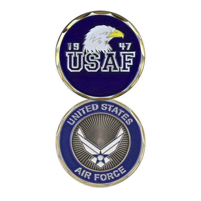 Air Force Eagle Challenge Coin