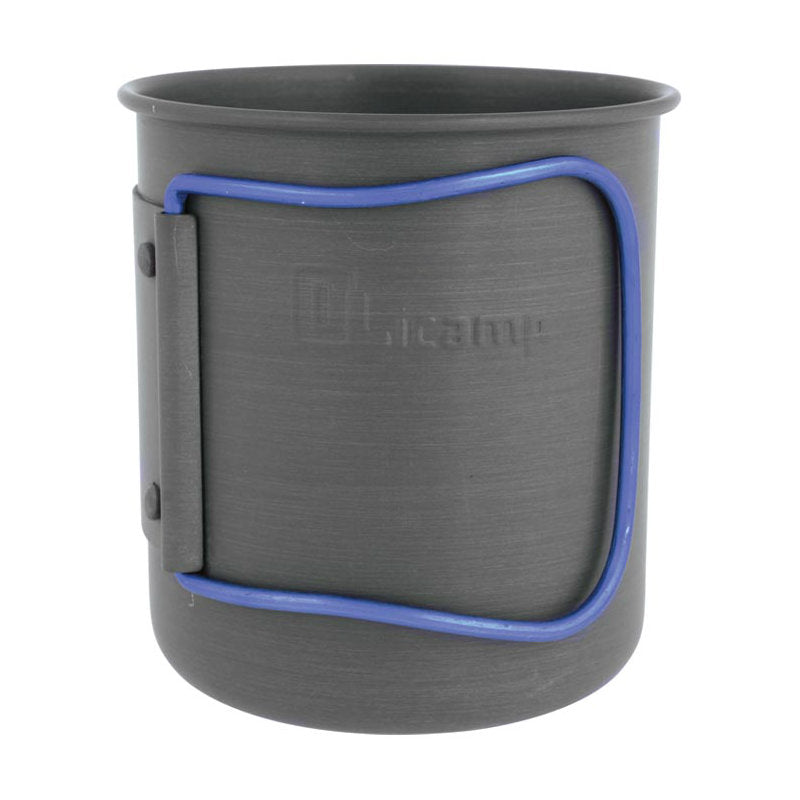 Olicamp Anodized Blue Handle Space Saver Cup - Indy Army Navy