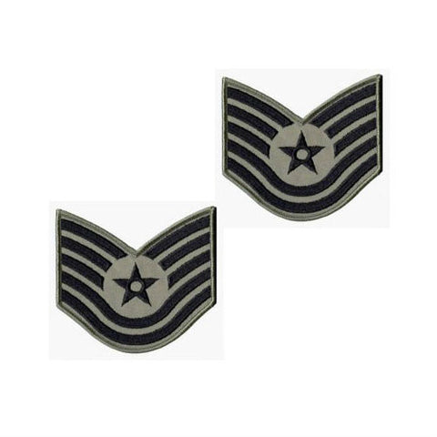 Air Force ABU Tech Sergeant Chevron Set