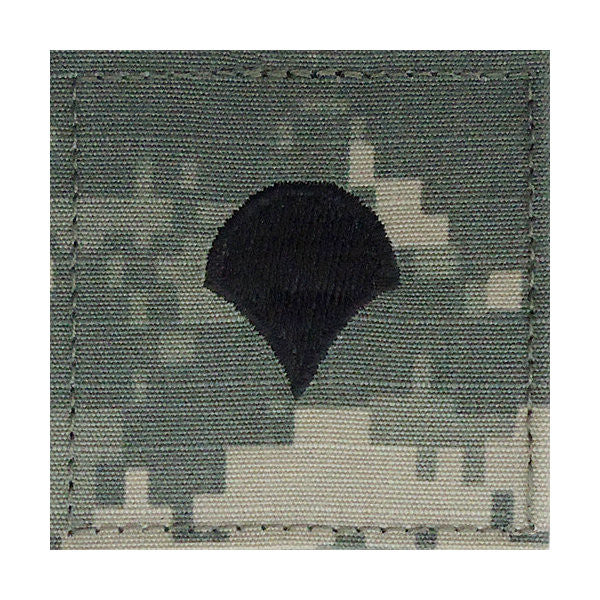 Army ACU Specialist 4 Hook & Loop Rank