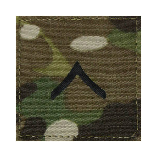 Army Private OCP Hook & Loop Rank