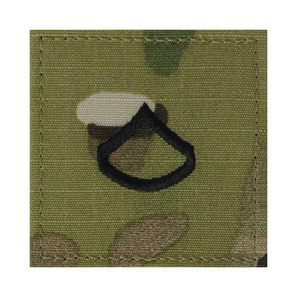 Army Private First Class (PFC) OCP Hook & Loop Rank
