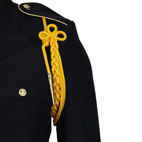 Army Gold Shoulder Cord With Brass Tip