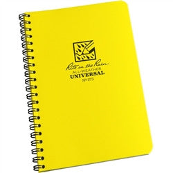 Rite in the Rain 373 All Weather Universal Spiral Notebook Yellow