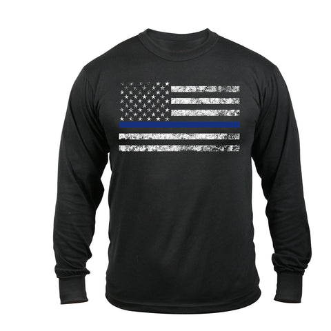 Thin Blue Line Long Sleeve T-Shirt