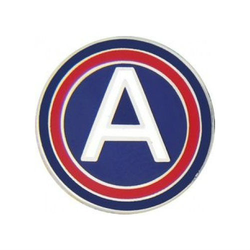 3rd Army Hat Pin (7/8 Inch) - Indy Army Navy