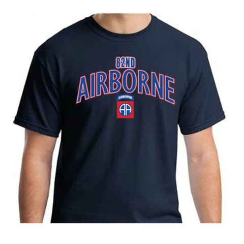82nd Airborne T-Shirt Navy