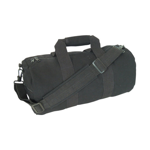 "Canvas Roll Gear Bag Black 14"" x 30"""