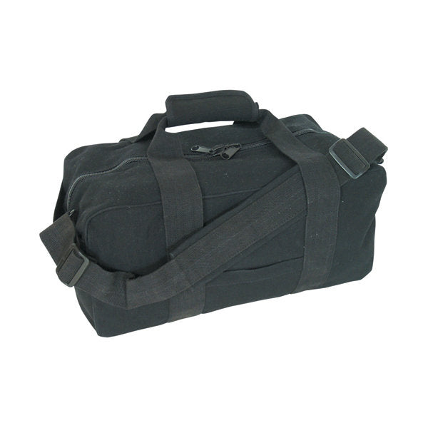 "Canvas Gear Bag Black 14"" x 30"""