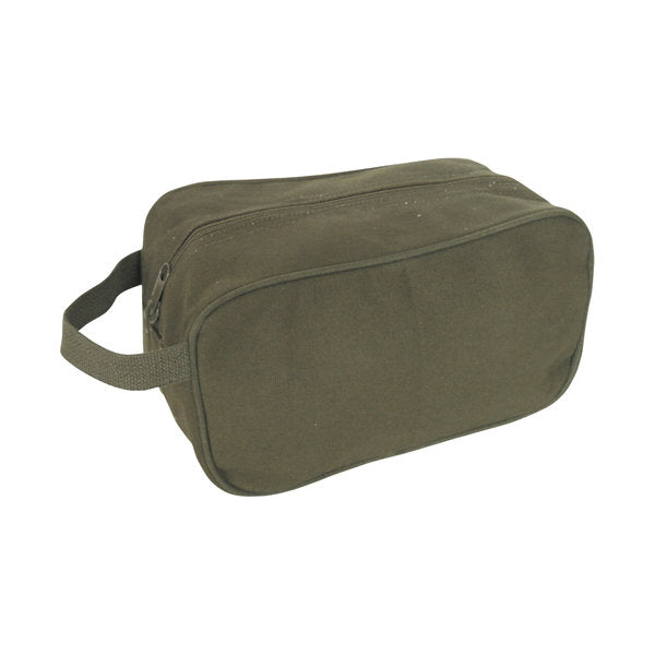 Canvas Toiletry Kit Olive