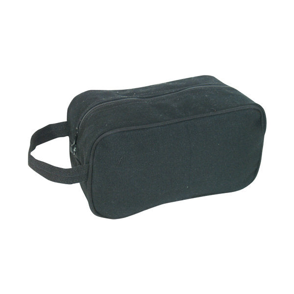 Canvas Toiletry Kit Black