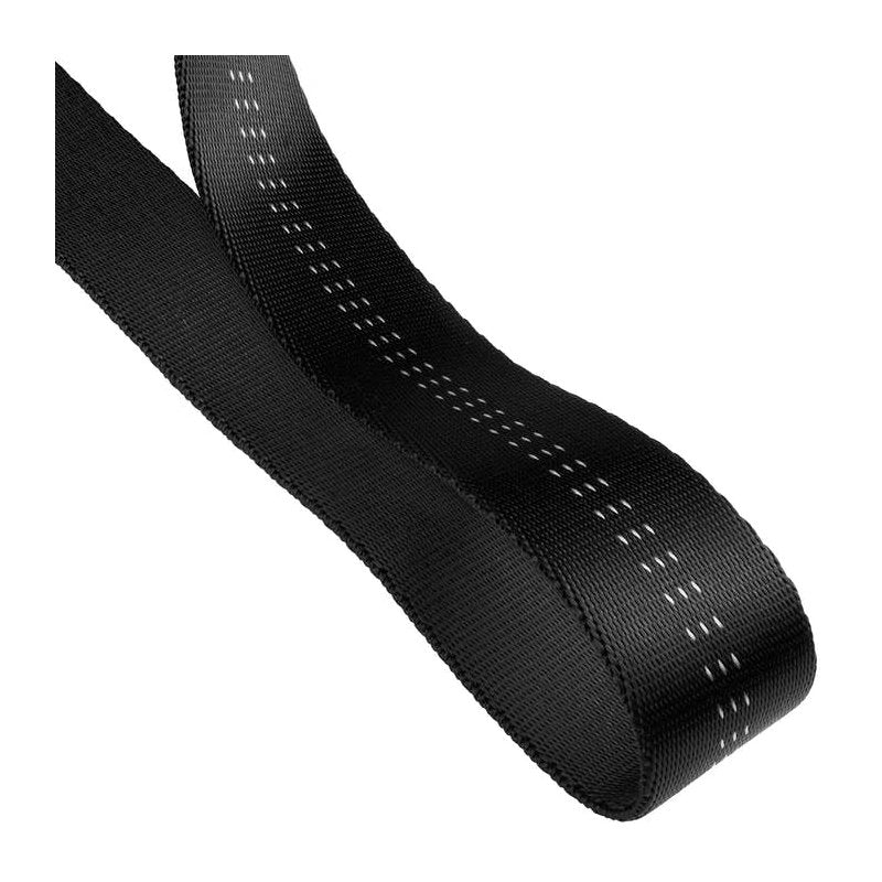 "Cypher Tubular Webbing 2"" Black (Sold By The Foot)"