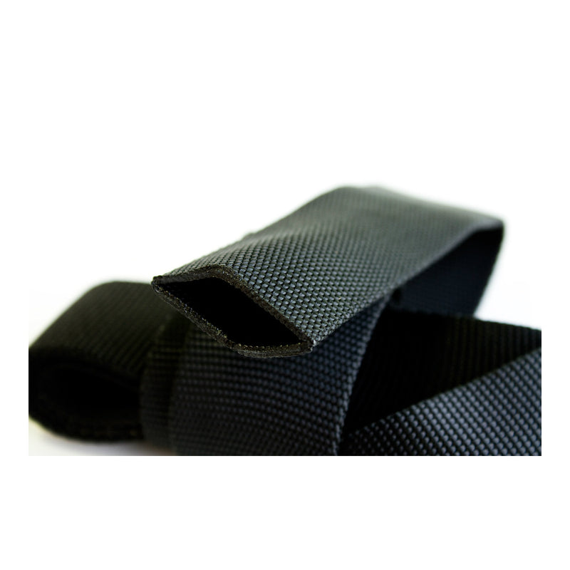 "Cypher Tubular Webbing 1"" Black (Sold By The Foot)"