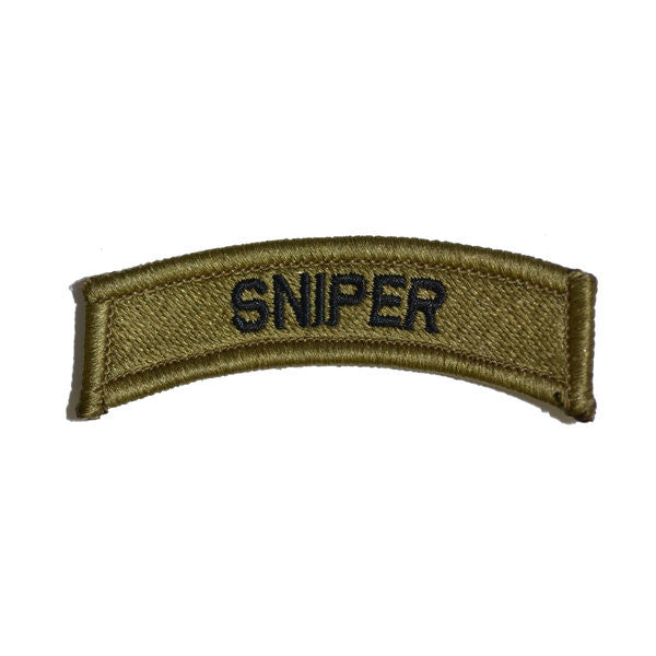 Army Sniper OCP Tab Hook & Loop Patch