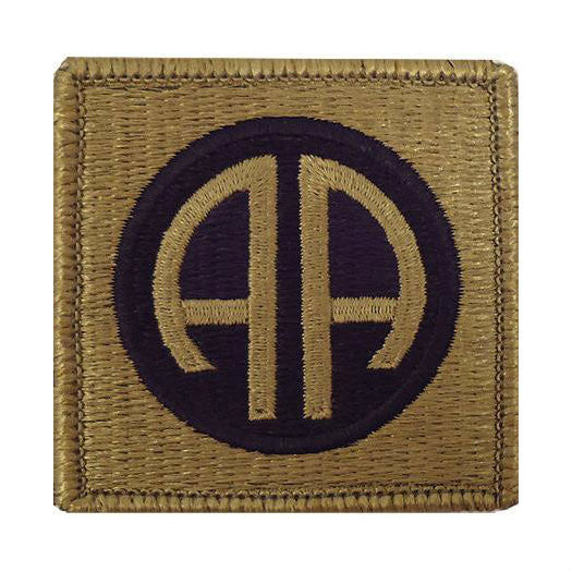 Army 82nd Airborne Division OCP Hook & Loop Patch