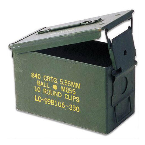 Used 50 Caliber Ammo Can