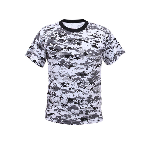 Digital City Camouflage T-Shirt