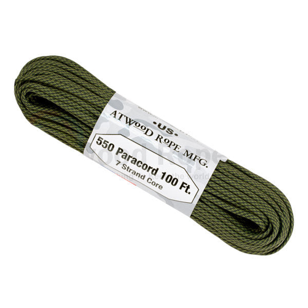 100Ft 550 Paracord Comanche - Indy Army Navy