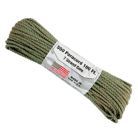 100Ft 550 Paracord Digital ACU