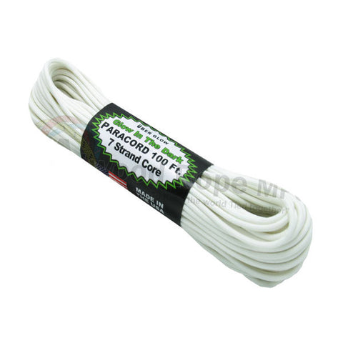 100Ft 550 Paracord Glow In The Dark