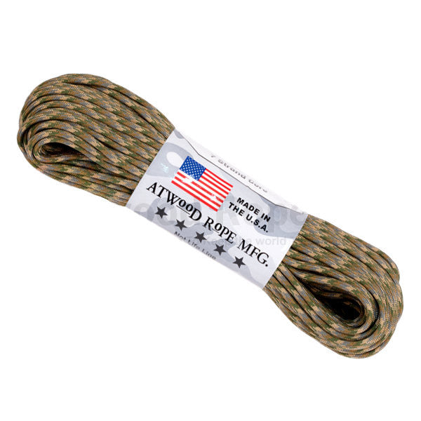 100Ft 550 Paracord Multicam - Indy Army Navy