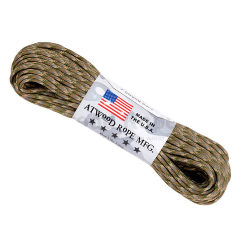 100Ft 550 Paracord Multicam