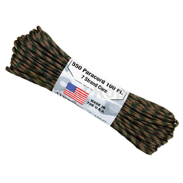 100Ft 550 Paracord Recon - Indy Army Navy