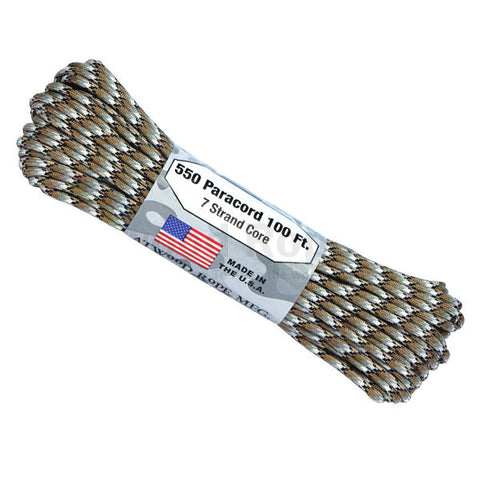 100Ft 550 Paracord Scorpion - Indy Army Navy