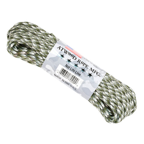 100Ft 550 Paracord Siberian Camouflage - Indy Army Navy