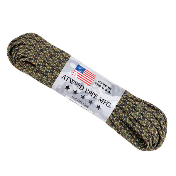 100Ft 550 Paracord Veteran - Indy Army Navy