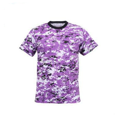 Digital Ultra Violet Camouflage T-Shirt