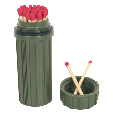 Olive Drab GI Matchbox Holder - Indy Army Navy
