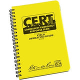 Rite in the Rain 573 All Weather CERT Field Operating Guide