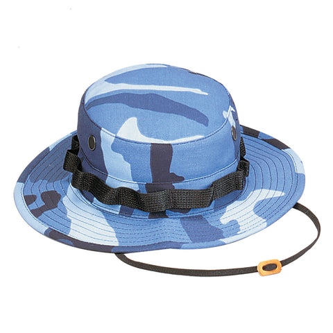 Sky Blue Camouflage Boonie Hat - Indy Army Navy
