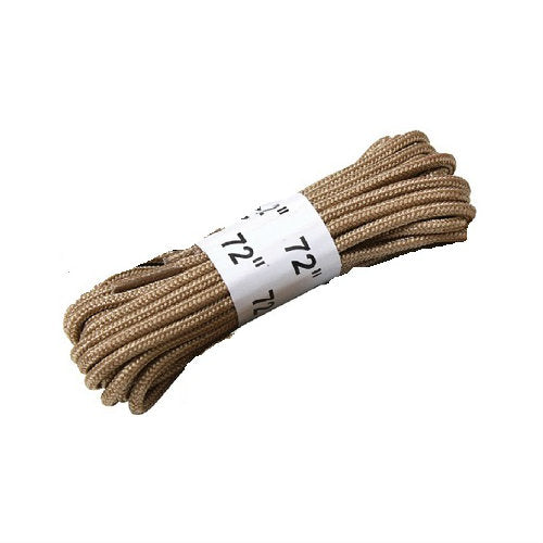 "Boot Lace Pair 72"" Tan"