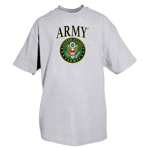 Grey Army Crest T-Shirt