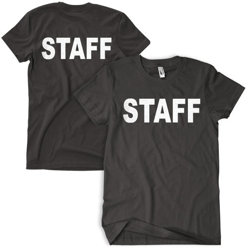 Staff T-Shirt Black