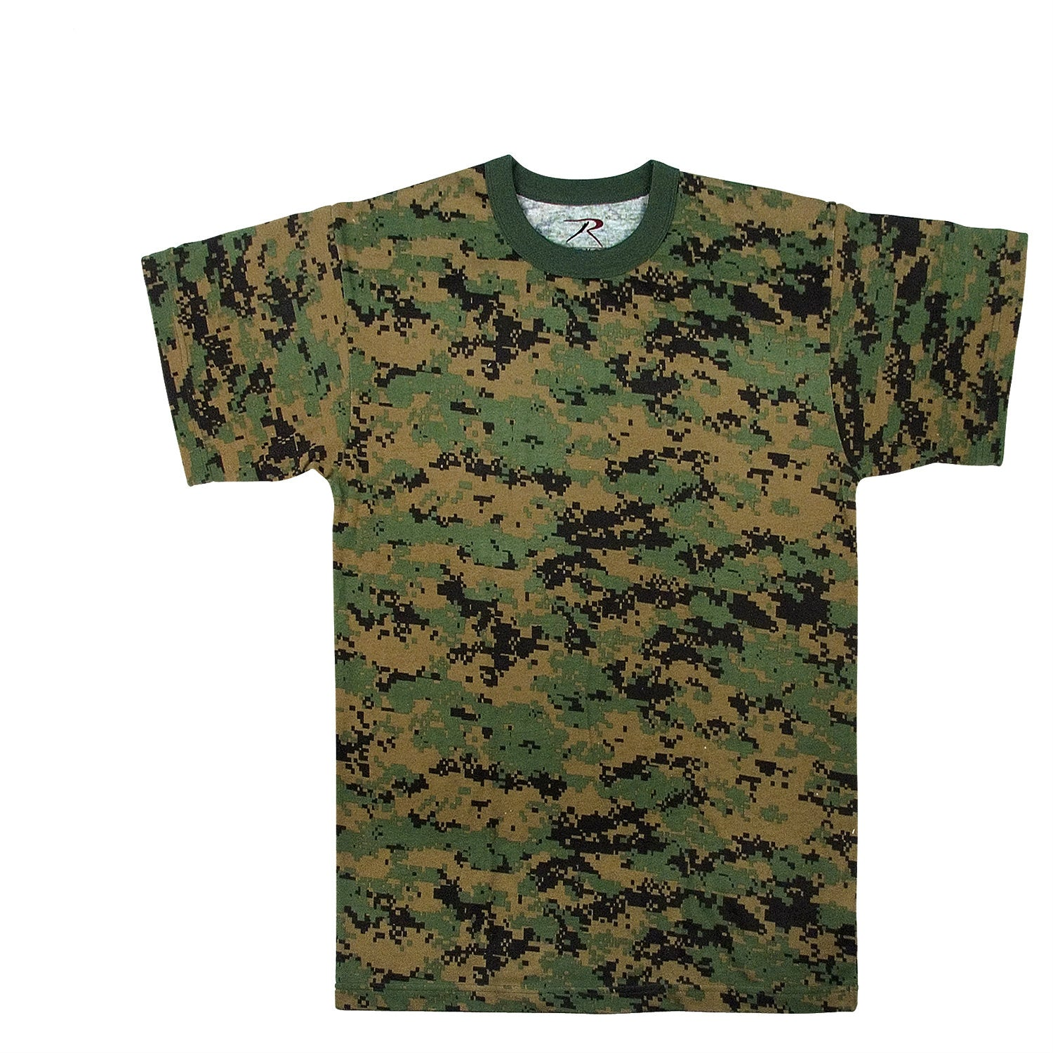 Woodland Digital Camouflage T-Shirt