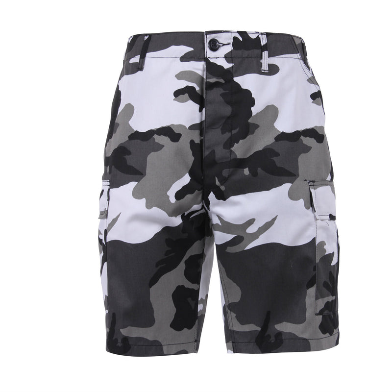 Urban City Camouflage BDU Shorts