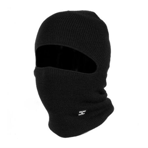 Ruff and Tuff 1 Hole Face Mask Black